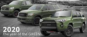 2020 Toyota Trd Pro Army Green