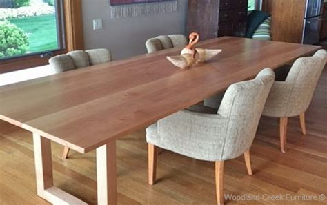contemporary wood kitchen tables solid wood contemporary dining table custom made dining table 5755