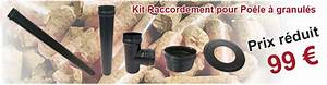 Kit Facade Pour Poêles A Pellets : tuyau diam tre 80 pour po le granule couleur noir ~ Premium-room.com Idées de Décoration