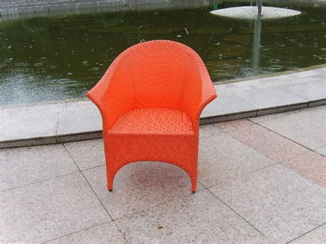 pe rattan plastic chair outdoor leisure chair d053