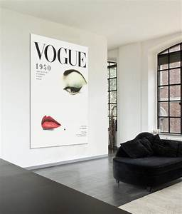 home accessory vogue canvas painting poster editorial With best brand of paint for kitchen cabinets with marilyn monroe canvas wall art