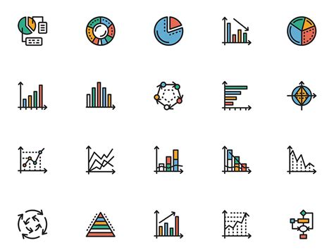 chart icons sketch freebie free resource for