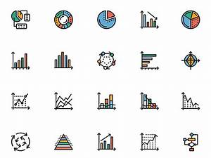 Chart Icons Sketch Freebie