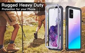 Samsung Galaxy S20 Plus Case Built In Screen Protector