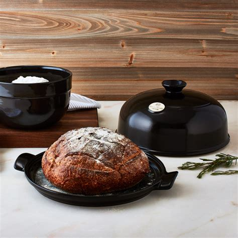bread cloche charcoal emile henry pinit