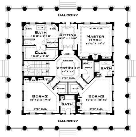 plantation floor plans revival with tour southern