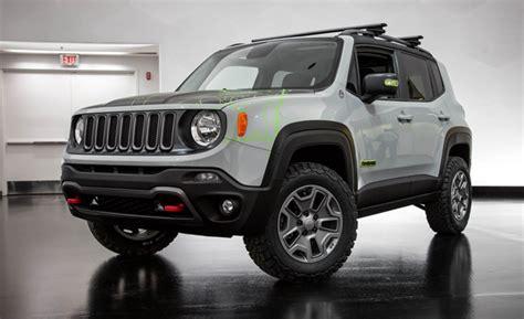 commander jeep 2016 trailstorm brewing wrangler renegade concepts revealed