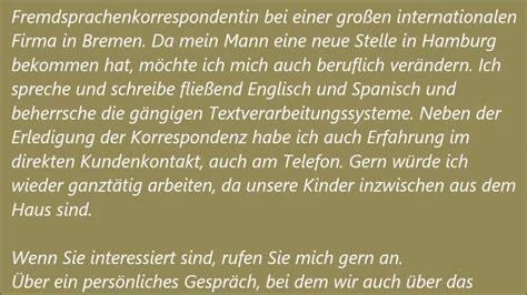 deutsche     pruefung  bewerbung schreiben