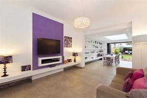 Wohnzimmer Regale Design : 14 wohnzimmer designs in lila ~ Sanjose-hotels-ca.com Haus und Dekorationen