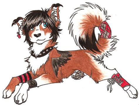 happy emo pup  happy emo pup  deviantart