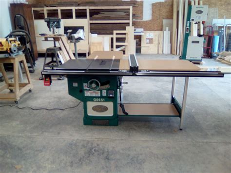grizzly cabinet saw review 10 quot heavy duty cabinet table saw with riving knife