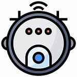 Vacuum Robot Icon Icons