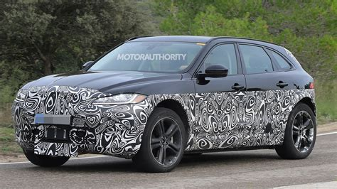 jaguar  pace spy shots
