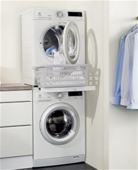 meuble superposition lave linge seche linge table de lit