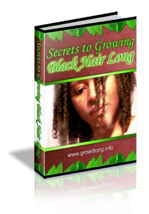 Secrets To Growing Black Hair Long  Healthy Hair Faster