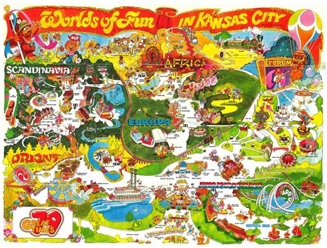Worlds of Fun Historical Maps - CP Food Blog