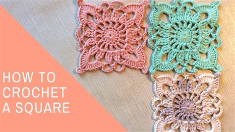how to crochet a square lace easy crochet lace square tutorial crochet easy crochet lace tutorial beautifull