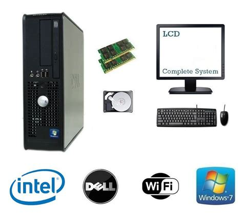 pc bureau windows 7 achat dell dual 4 go 2 to hdd windows 7 complet