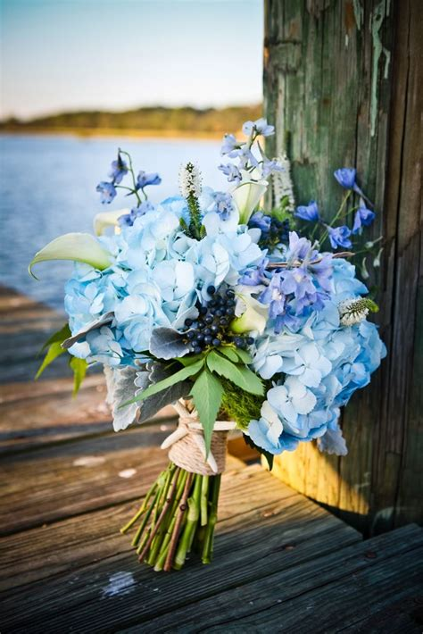 beautiful wedding bouquet  nautical theme check