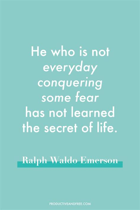 Quotes About Overcoming Best 25 Overcoming Fear Quotes Ideas On