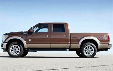 2011 Ford F 250 Super Duty Oil Capacity Specs