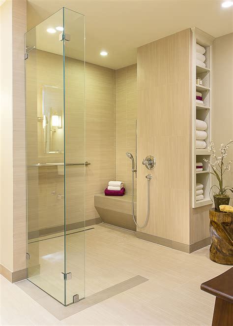 Universal Design Bathrooms by This Shower Includes Many Wonderful Universal Design