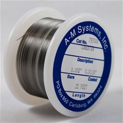 bare tungsten wire   systems