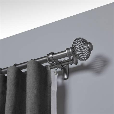 umbra spokes double curtain rod reviews wayfair