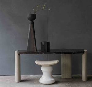 Lob Low Console  Design Christophe Delcourt  Made In France