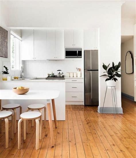 cuisine moderne blanche et bois la cuisine blanche et bois en 102 photos inspirantes