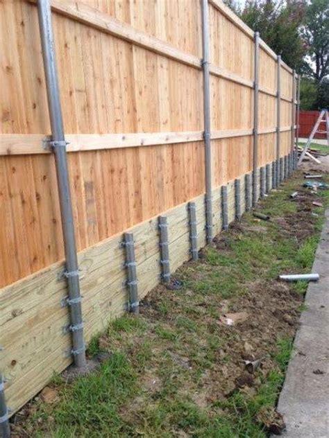 cedar retaining wall retaining walls texas best stain