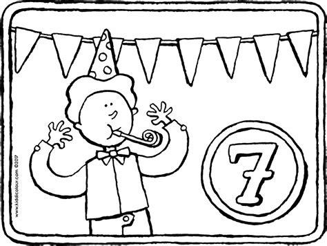 Kleurplaat 12 Jaar by Kleurplaten Voor Kinderen 7 Tot 9 Jaar Kiddi De