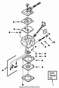 Poulan Gbi22 Gas Blower Parts Diagram For Carburetor