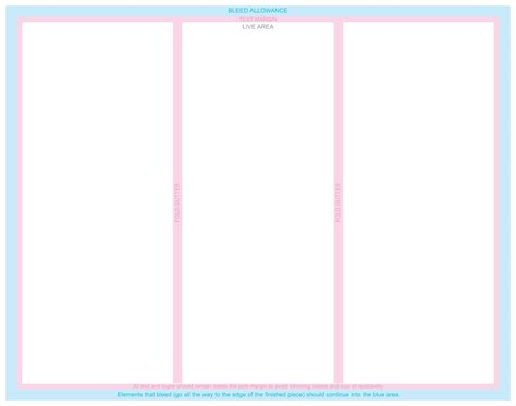 Blank Brochure Template Word Exle Mughals Blank Brochure Template Mughals