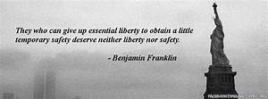 Safety Vs Freed... Liberty Vs Freedom Quotes