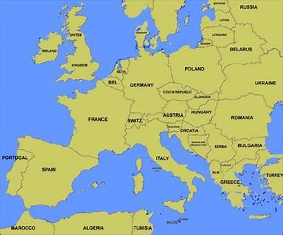 Europe Map Sardinia Gifs Animated European Maps