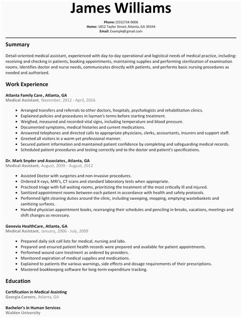 And Paste Resume Template by Free Collection 43 Copy And Paste Resume Template New
