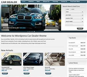 5 wordpress themes for car businesses wp solver With craigslist car template