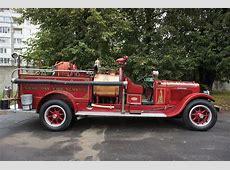 REO Fire truck Reanimation auto repair