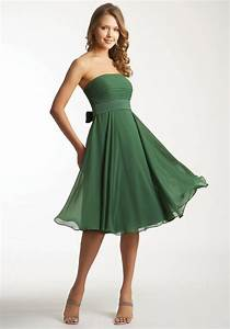 green bridesmaid dresses dressed up girl With green cocktail dress for wedding