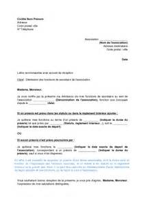 modele lettre de demission medecin document