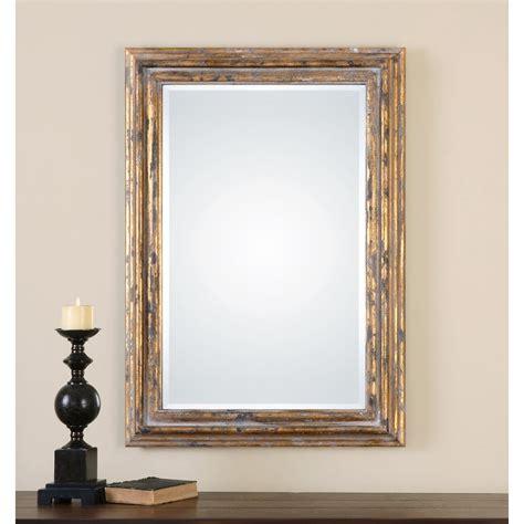 Uttermost Oralist Mirror by Uttermost 12896 Davagna Gold Leaf Mirror Homeclick