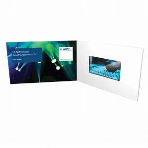 China lcd video brochure cards tv in card video gift for Lcd business card