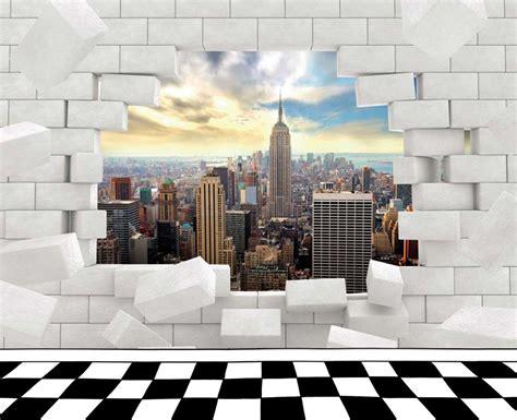 chambre londres ado manhattan vue sur york derrière un mur en