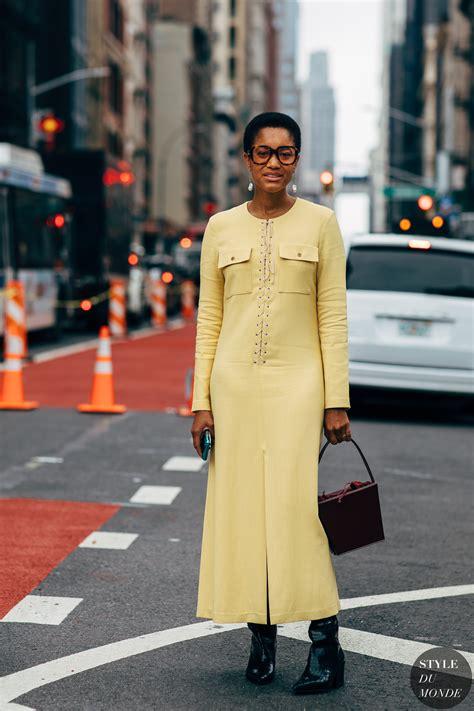 New York Ss 2019 Street Style Tamu Mcpherson  Style Du