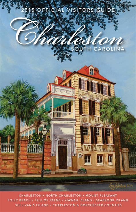 charleston area convention and visitors bureau charleston sc official charleston area south carolina visitors guide by