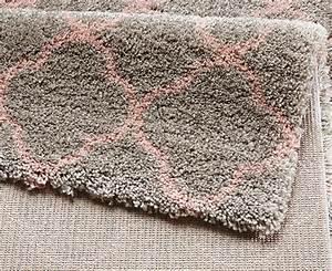 Teppich Grau Rosa : design velours shaggy teppich langflor hochflor luna grau rosa mit muster ebay ~ Indierocktalk.com Haus und Dekorationen