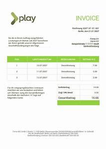 Zalando Auf Rechnung Geht Nicht Mehr : kostenlose rechnungsvorlagen f r word ~ Themetempest.com Abrechnung