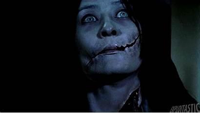 Horror Gifs Creepy Scary Onna Dead Kuchisake