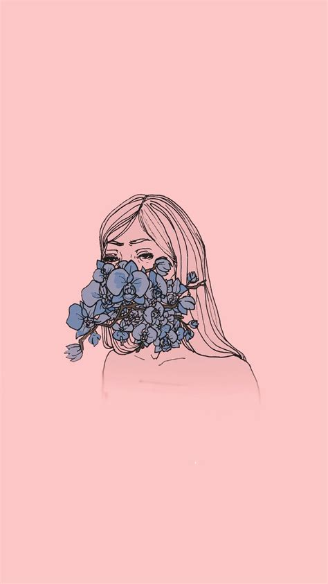 Aesthetic Girly Wallpaper by Iphone Background In 2019 Minimalist